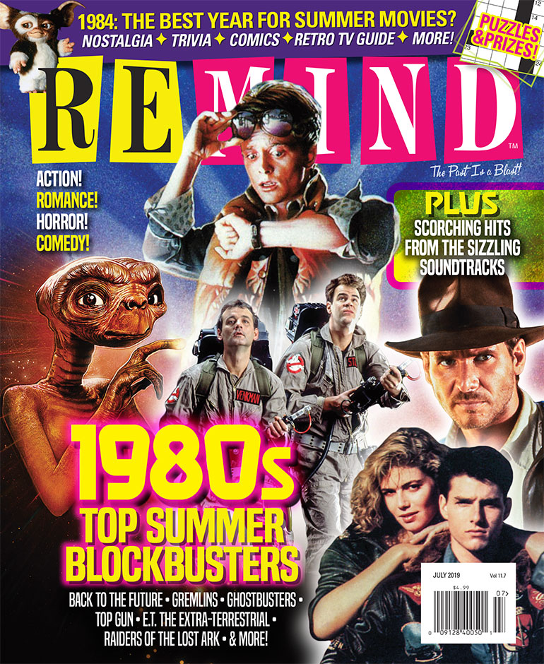 1980s Top Summer Blockbusters - July 2019 ReMIND Magazine :: ReMIND